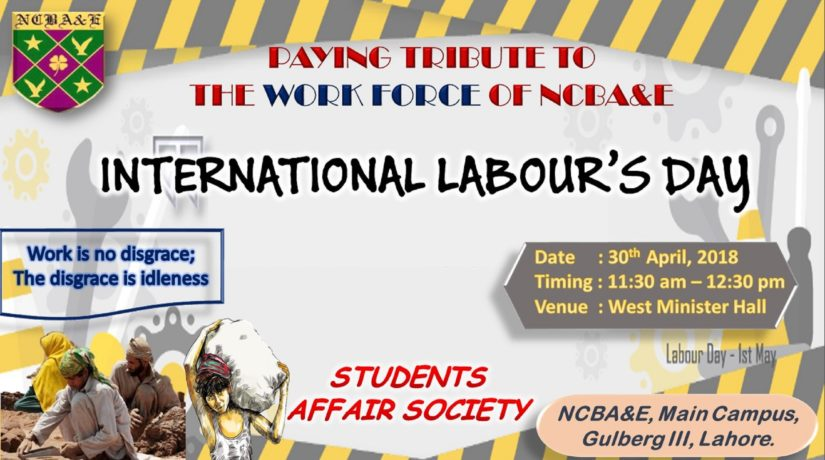 Labour Day – NCBAE